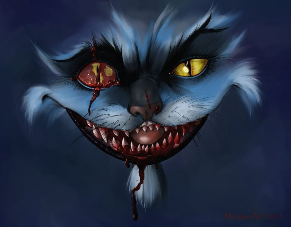 cheshire_cat_fight_by_morgueart-d4z5om9.jpg